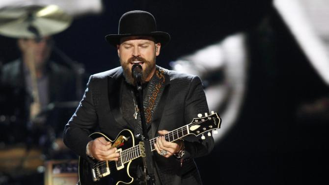 Zac Brown performs during the 2015 Rock and Roll Hall of Fame Induction Ceremony in Cleveland