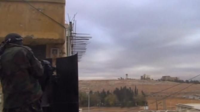 Back-and-forth fighting in Syria carries on