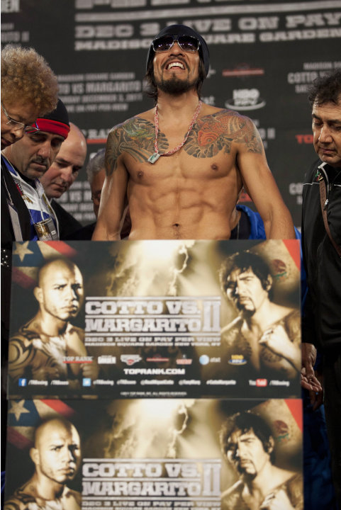 Miguel Cotto vs. Antonio Margarito in their second showdown