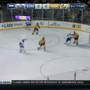Pekka Rinne Save on Jeff Petry (02:11/2nd)