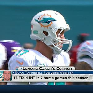 Lenovo Coach's Corner: Will Miami Dolphins quarterback Ryan Tannehill play well in Week 17?