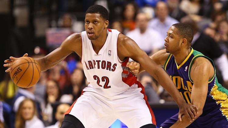 NBA: New Orleans Hornets at Toronto Raptors
