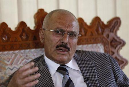 Yemen's Saleh says ready to commit to U.N. peace terms