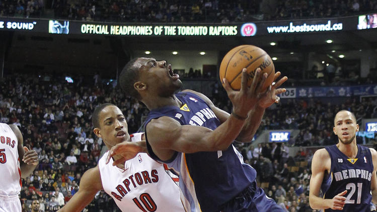 NBA: Memphis Grizzlies at Toronto Raptors