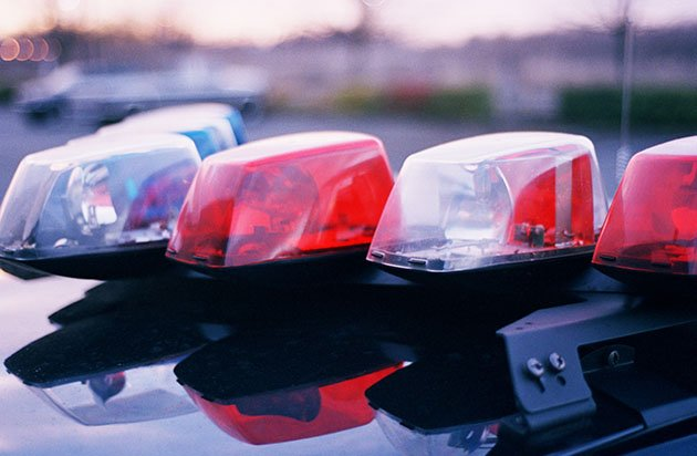 File photo of police lights (Thinkstock)