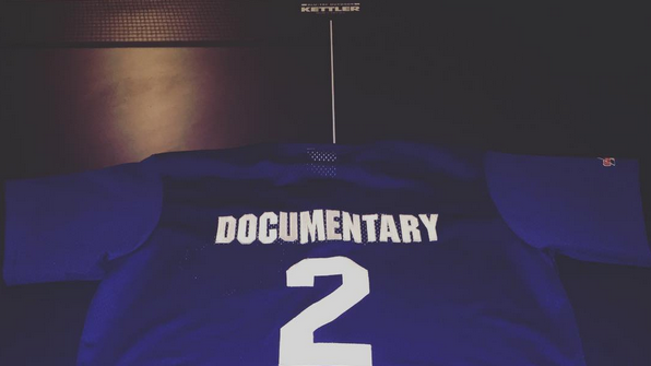The Game Blessed Drake With a Custom Blue Jays Jersey for the MLB Playoffs