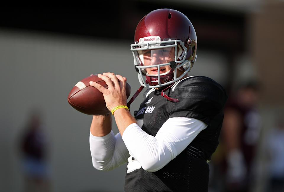 Manziel to sit half of A&M's opener against Rice