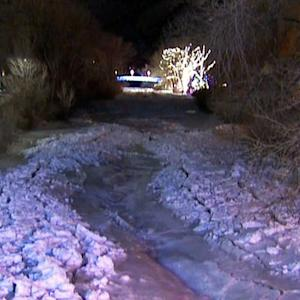 Ice dam breaks, threatened Denver suburb
