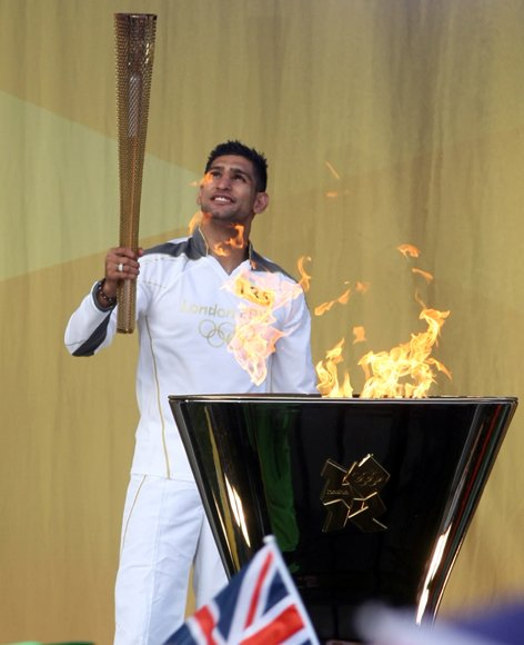 The Olympic Flame Continues Its Journey Around The UK - Day 13