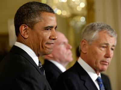 Obama Taps Hagel for Defense, Brennan for CIA
