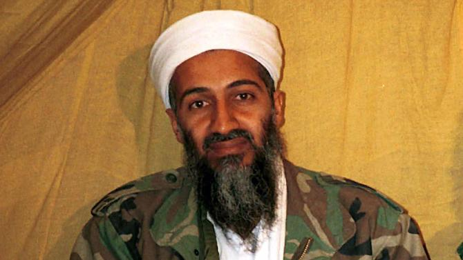 FILE - This undated file photo shows al Qaida leader Osama bin Laden in Afghanistan. At the center of a hotly disputed Senate torture report is America's biggest counterterrorism success of all: the killing of Osama bin Laden. The still-classified, 6,200-page review concludes that waterboarding and other harsh interrogation methods provided no key evidence in the hunt for bin Laden, according to congressional aides and outside experts familiar with the investigation. The CIA still disputes that conclusion. (AP Photo, File)