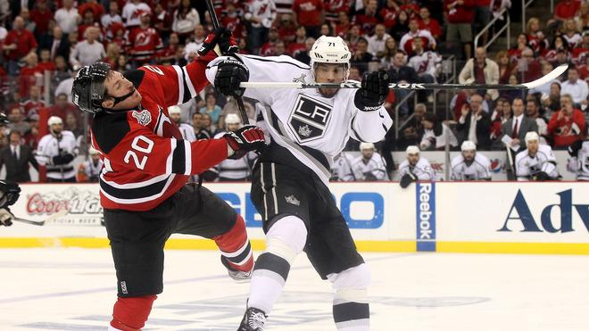 Jordan Nolan #71 Of The Los Angeles Kings Makes Getty Images