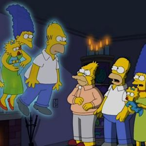 'The Simpsons' Meet Original Selves
