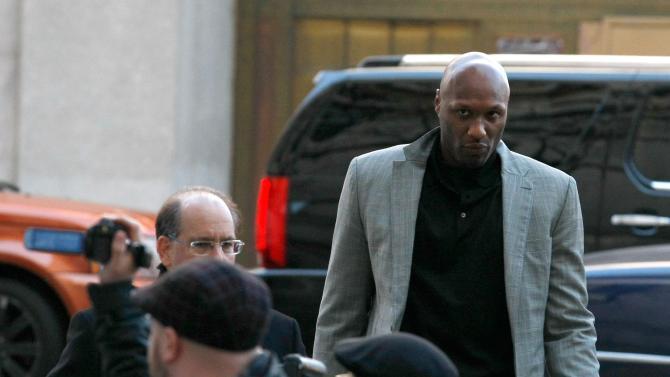 Lamar Odom Attends Custody Hearing