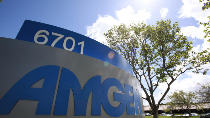 Sales disappoint, but tax gain lifts Amgen profit