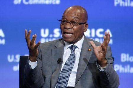 """S.Africa's Zuma says in """"perfect"""" health after post-election fatigue"""