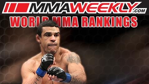 MMA Top 10 Rankings: Vitor Belfort Reclaims No. 2 in Anderson Silva's Middleweight Division