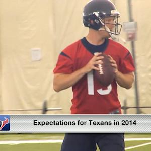 Expectations for Houston Texans in 2014