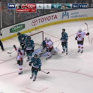 Russell's game-tying goal