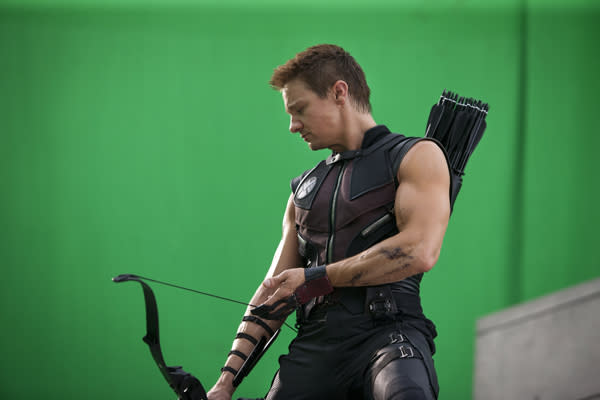 Behind the Scenes The Avengers