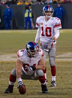New York Giants Back on the David Baas Injury Watch List
