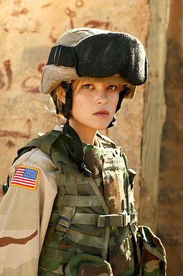 Nicki Lynn Aycox as Pvt. Brenda &quot;Mrs. B&quot; Mitchell 