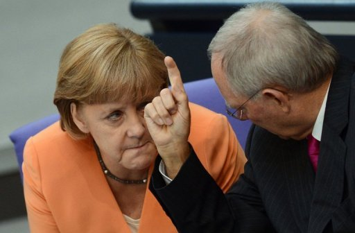 "Germany's Finance Ministry says the country remains the ""eurozone's anchor of stability"""