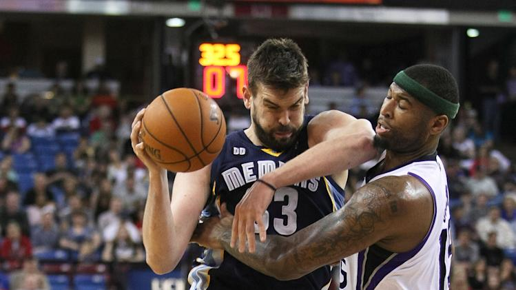 NBA: Memphis Grizzlies at Sacramento Kings