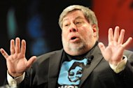 "Apple co-founder Steve Wozniak, seen here in May 2012, has predicted ""horrible problems"" in the coming years as cloud-based computing takes hold"