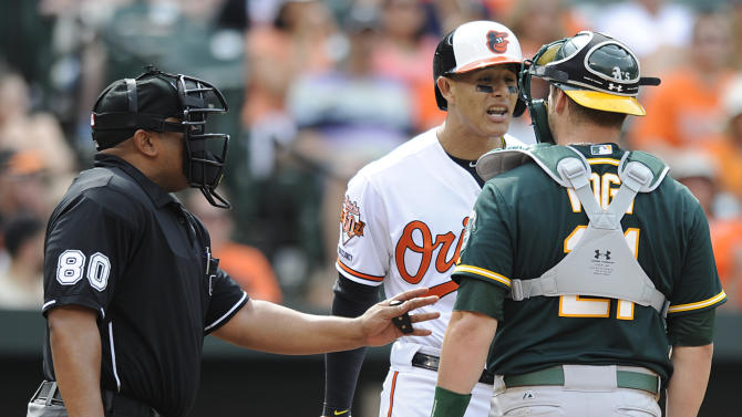 Orioles Machado suspended for 5 games, appeals