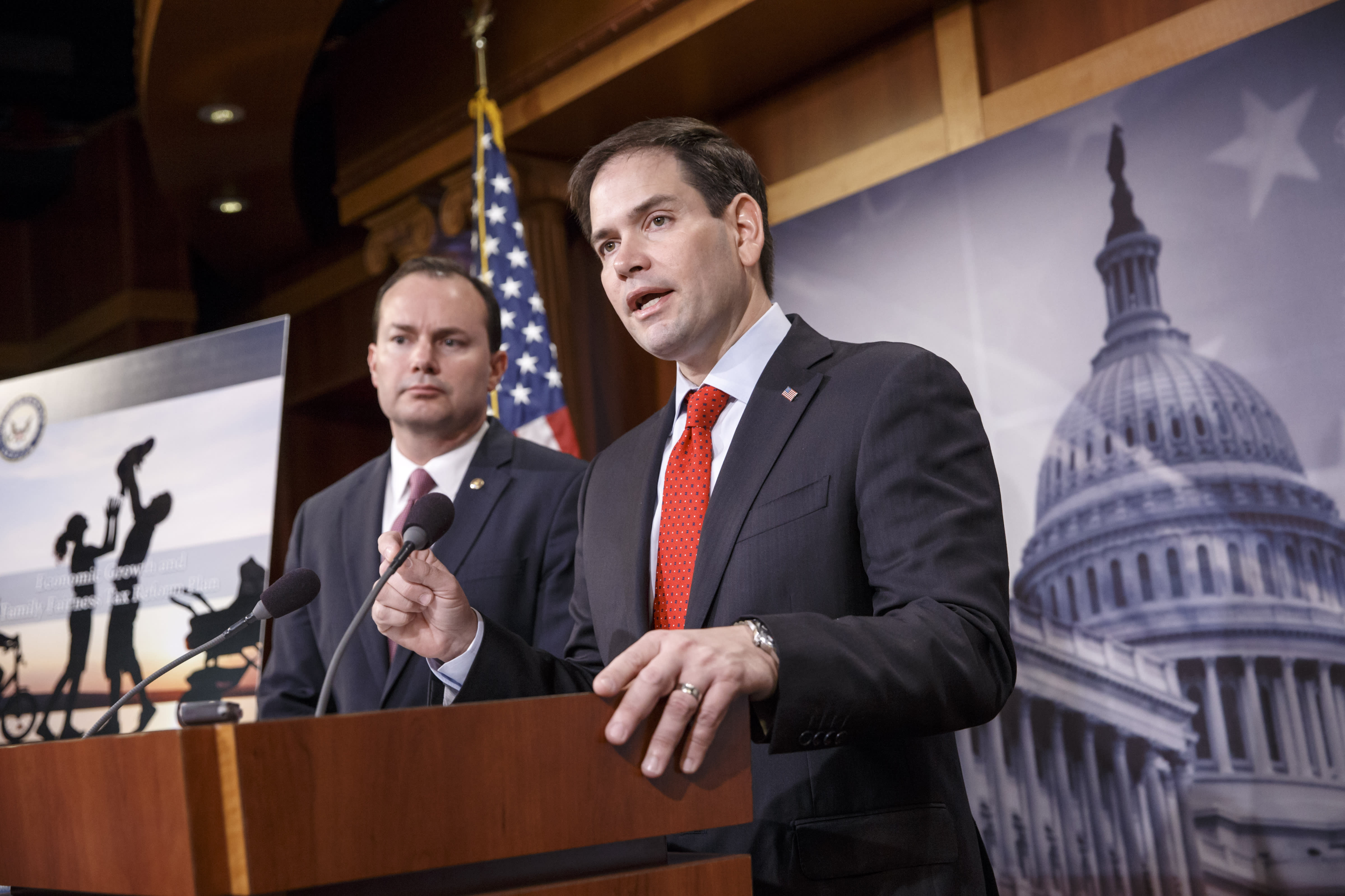 Rubio-Lee tax plan rewards investors, parents, businesses
