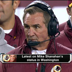 Latest on Washington Redskins head coach Mike Shanahan's status