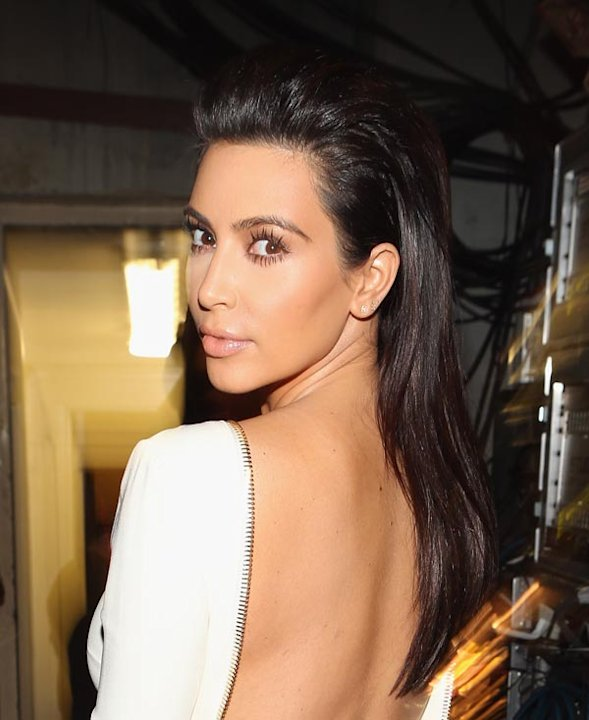 Kim Kardashians BET Awards Hair: Get Her Ultra-Sexy Style