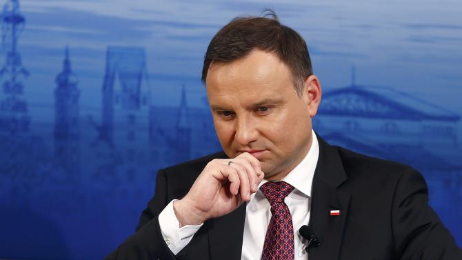 Poland's President Duda attends the Presidential debate at the Munich Security Conference in Munich