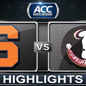Syracuse vs Florida State | 2014 ACC Basketball Highlights