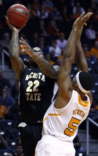 Golden, Vols rally past No. 23 Wichita State 69-60