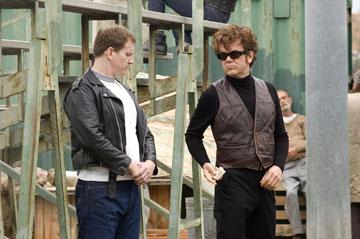 Ian Roberts and John C. Reilly in Columbia Pictures' Walk Hard: The Dewey Cox Story