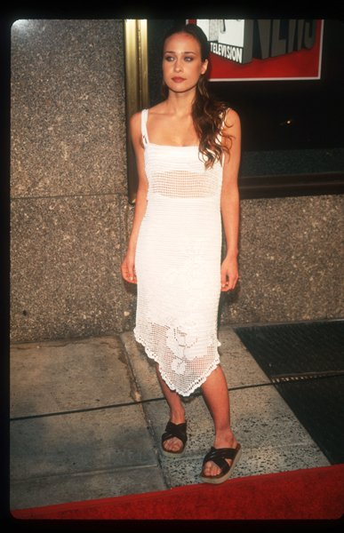 "The year was 1997; the song was ""Sleep to Dream."" Fiona accepted her MTV Video Music Award, a vision in a white crochet slip dress, wavy hair, sultry eyes, crimson stained lips and an Indian summer ta"