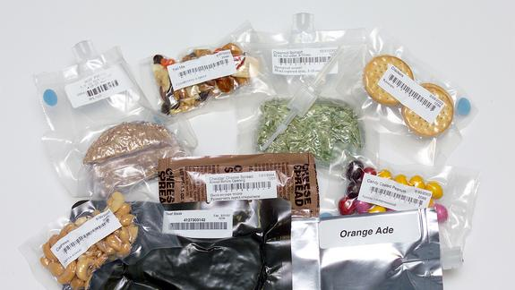 NASA Serving Up Space Food and Shuttle Tiles to Museums