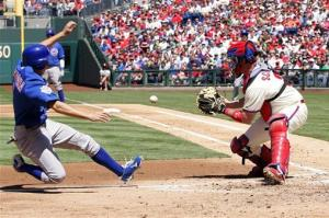 Garza dominates Phillies, Cubs win 5-1