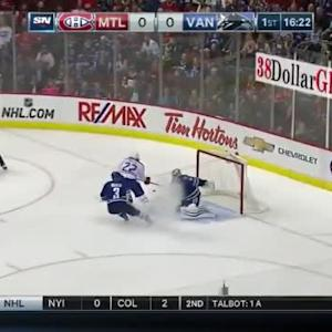 Ryan Miller Save on Dale Weise (03:41/1st)