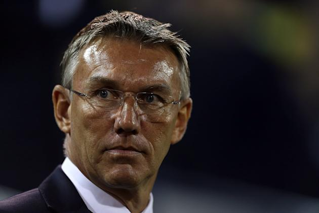 Nigel Adkins is under pressure at Southampton after a poor start to the season
