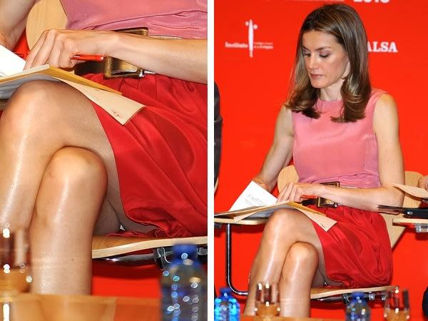 La Princesa Letizia Tuvo Un Descuido Con Su Ropa Interior