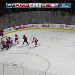 Cam Ward Save on Brendan Gallagher (03:35/3rd)
