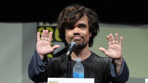 Peter Dinklage speaks onstage during the 'Game Of Thrones' panel during Comic-Con International 2013 at San Diego Convention Center on July 19, 2013 in San Diego, Calif. -- Getty Images