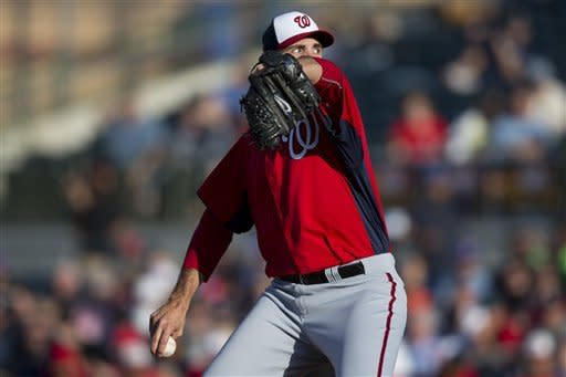 Chris Young effective in likely Nationals farewell
