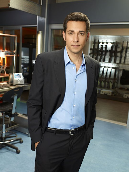 "Zachary Levi returns as Chuck Bartowski on ""Chuck"""