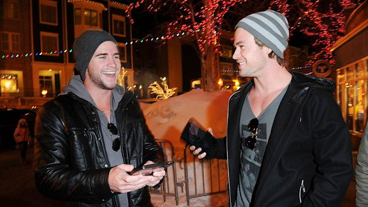 Liam Chris Hemsworth Sundance