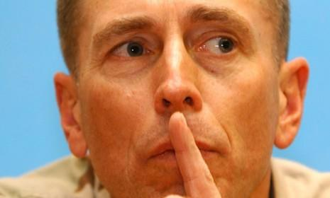 Gen. David Petraeusin 2004: The sordid scandal of the former CIA director's affair could take focus off of Congress' fiscal cliff negotiations.