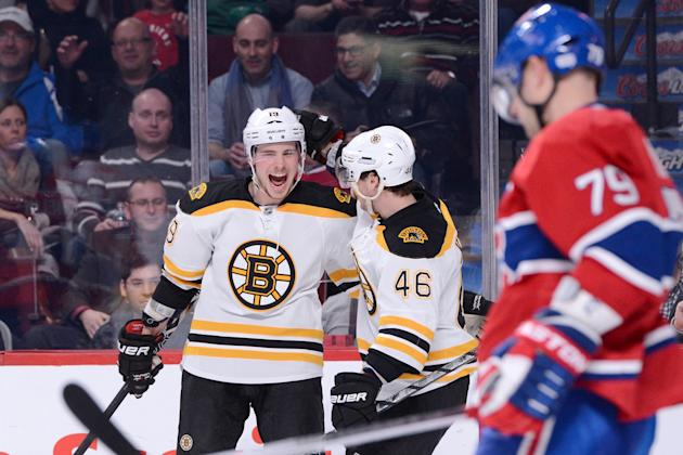 Boston Bruins v Montreal Canadiens